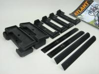 Комплект адаптеров багажника Атлант Kia Ceed универсал 2012- (Киа Сид, для интегрированного рейлинга адаптеры, опора тип Е atlant 7167)