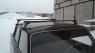 Багажник на крышу Атлант установка на водосток (ВАЗ, Москвич, иномарки) прямоугольные поперечины, сталь 1.25м, atlant 8901