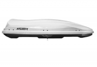 Автобокс багажный Atlant Diamond 500 White 500 литров 2200 х 800 х 440 мм (даймонд белый, атлант 8599)