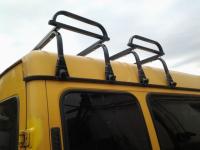 Багажник на крышу автомобиля с водостоками и высокой крышей Inter Gazel 1 полукомплект в сборе (интер газель высота крыши до 30см)