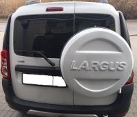 Чехол запасного колеса Lada Largus (ларгус ледниковый код 221)
