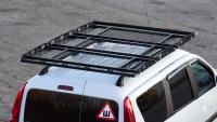 Багажник-корзина трехсекционная универсальная с основанием-решётка PT Group 2100х1300 под поперечины (платформа, ПТ Групп 10010303)