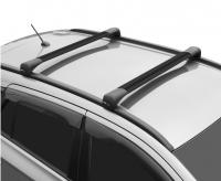 Багажник на крышу LUX Bridge Audi Q5 2008- поперечины черные 82мм 792856+792733+792627 (ауди ку5, люкс бридж)