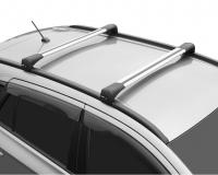 Багажник на крышу LUX Bridge Hyundai Santa Fe 2018- поперечины серебро 82мм 793969+793976+792627 (хендай санта фе, люкс бридж 105/110)