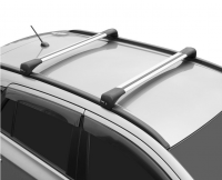 Багажник на крышу LUX Bridge KIA Sorento 2020- поперечины серебро 82мм 797905+792801+792627 (киа соренто бридж люкс) 99/99