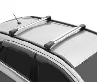 Багажник на крышу LUX Bridge Renault Koleos 2017- поперечины серебро 82мм 792832+792764+792627 (рено колеос, люкс бридж)