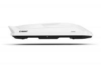 Автобокс Cybort Inception V 1.1.6 белый глянец 2060 х 860 х 400 мм 480 л (бокс на крышу кайборт)