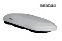 Автомобильный бокс MENABO Diamond 450 DUO белый 163х91х36 см (автобокс багажный, менабо даймонд ME 930000)