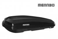 Автомобильный бокс MENABO Diamond 450 DUO черный 163х91х36 см (автобокс багажный, менабо даймонд ME 931000)