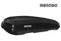Автомобильный бокс MENABO Diamond 500 DUO черный 209х79х37 см (автобокс багажный, менабо даймонд ME 814000)