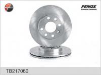 Диск тормозной Fenox TB217060 1шт (Sens, Lanos, Nexia вентилируемый, аналог 90121445)