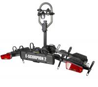Крепление для перевозки двух велосипедов на фаркопе BUZZRACK E-Scorpion BR612 (велокрепление, платформа БазРак)