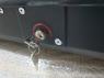 Автобокс YUAGO Optima EURO 390л серый, тиснение 140х78х40, одностороннее открывание (бокс-багажник яго оптима евро)