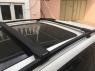 Багажник на крышу на высокие рейлинги Ficopro R56-B аэродинамические крыловидные поперечины, 1100-1200мм и 1040-1140мм (Фикопро, комбинированный черный)