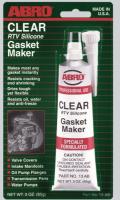 Герметик прокладок Clear стандартный ABRO 13-AB 85гр прозрачный