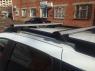 Багажник на крышу на высокие рейлинги Delta Alfa Tour аэродинамические поперечины 1.4м (рейлинг с просветом, альфа тур дельта D-015-140)
