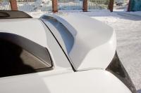 Спойлер на крышку багажника очищающий стекло Renault Duster 2011- АртФорм (окрашенный KNM светлый базальт, Рено дастер, яго)