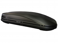 Бокс автомобильный багажный Евродеталь Магнум 390 черный карбон 1850х840х420 мм (автобокс Magnum с быстросъемным механизмом крепления ED5-045B)
