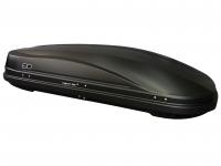 Бокс автомобильный багажный Евродеталь Магнум 390 черный камуфляж 1850х840х420 мм (автобокс Magnum с быстросъемным механизмом крепления ED5-063B)