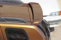 Спойлер на крышку багажника очищающий стекло Renault Duster 2011- АртФорм (окрашенный TE DNP хаки, Рено дастер, яго)