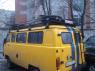Корзина экспедиционная багажная UAZ 3741,2206 (микроавтобус) Евродеталь ED2-210N 3400х1650 мм (сталь, УАЗ буханка багажник с сеткой)