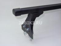 Багажник на крышу Delta Polo New в штатные места прямоугольные поперечины 1.2м D-012-120+D-016-114 (дельта поло)