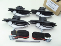 Комплект креплений багажного бокс Diamond к прямоугольным поперечинам Menabo ME 825000 (скобы автобокса, менабо даймонд)