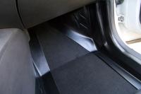 Накладка на ковролин пола передние Renault Kaptur 2016- АртФорм комплект 2 шт (Рено Каптур, яго)