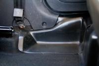Накладка на ковролин пола задние Renault Kaptur 2016- АртФорм комплект 2 шт (Рено Каптюр, яго)