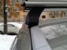 Багажник на крышу Атлант Audi Q3 2011- аэродинамические поперечины (1.1м) 7175+8827+7002 (Ауди Ку3, опора тип E atlant)