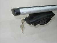 Багажник на крышу Inter Belt аэродинамические крыловидные поперечины 1.2м (на высокие рейлинги нестандартного профиля, интер белт)