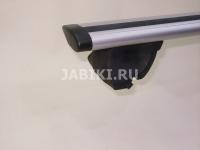 Багажник на крышу на рейлинги Inter Favorit крыловидные аэродинамические поперечины 1.2м (на высокий рейлинг, Интер фаворит)