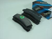 Колодки тормозные дисковые передние Best 21-35-1080 комплект 4шт (ВАЗ 2121-21213, 2123 Chevrolet Niva 2121-3501090)