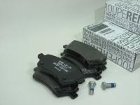 Колодки тормозные дисковые передние Renault 410608481R комплект 4шт (Largus, Duster 16V 1.6L АБС+ оригинал)