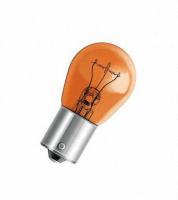Лампа МАЯК PY21W 12V 21W 1шт, 61218amb (оранжевая лампа, смещенный цоколь)