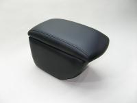 Подлокотник Line Vision для Volkswagen Tiguan 07- Люкс черный, двойное дно (Фольксваген Тигуан, лайн вижн 53009ILB)