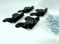 Комплект адаптеров багажной системы LUX Mitsubishi Outlander 2012- 844321 (митсубиши аутлендер, кит адаптеры бк2 люкс)