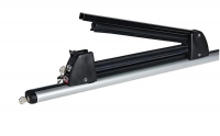 Крепление для лыж и сноубордов Amos Ski Lock 3 Black (Амос черный насадка на поперечины, лыжное крепление 3 пары лыж или 2 сноуборда)