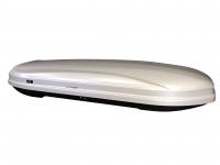 Бокс автомобильный багажный Евродеталь Магнум 450 серый глянцевый 2185х775х340 мм (автобокс Magnum быстросъемный механизм крепления ED5-056B)