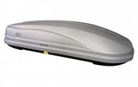 Бокс автомобильный багажный Евродеталь Магнум 580 серый карбон 2200х840х450 мм (автобокс Magnum с быстросъемным механизмом крепления ED5-071B)
