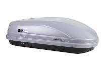 Бокс автомобильный багажный Евродеталь Магнум 350 серый карбон 1400х900х420мм (быстросъемный механизм крепления автобокс Magnum ED5-041B)