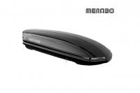 Автомобильный бокс MENABO Mania 400 черный 165х79х37 см (автобокс багажный, менабо мания ME 341000)