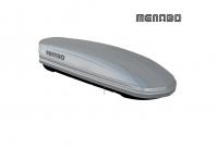 Автомобильный бокс MENABO Mania 400 серый 165х79х37 см (автобокс багажный, менабо мания ME 340000)