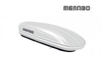 Автомобильный бокс MENABO Mania 400 белый 165х79х37 см (автобокс багажный, менабо мания ME 342000)