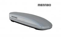 Автомобильный бокс MENABO Mania DUO 460 серый 198х79х37 см (автобокс багажный, менабо мания ME 354000)