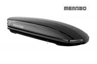 Автомобильный бокс MENABO Mania DUO 580 черный 225х89х37 см (автобокс багажный, менабо мания ME 357000)