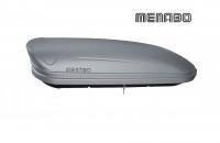 Автомобильный бокс MENABO Maraphon 400 черный матовый 165х79х37 см (автобокс багажный, менабо марафон ME 923000)
