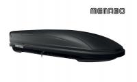 Автомобильный бокс MENABO Maraphon DARK 460 черный матовый 198х79х37 см (автобокс багажный, менабо марафон ME 657000)