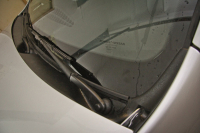 Накладка в проем стеклоочистителей (Жабо без скотча) Renault Duster 2011- АртФорм (Рено Дастер, яго)