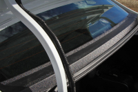 Накладка в проем заднего стекла, без скотча Lada Vesta 1шт АртФорм (жабо Лада Веста, яго)